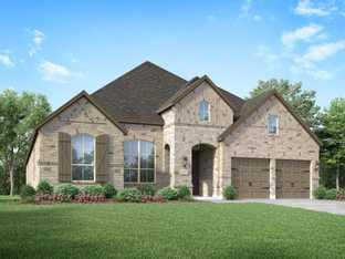 Plan 214 - Sandbrock Ranch: 60ft. lots: Aubrey, Texas - Highland Homes