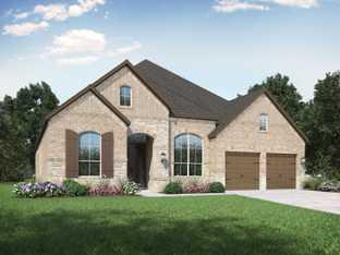 Plan 215 - Hallie's Cove: Schertz, Texas - Highland Homes
