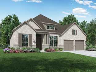 Plan 215 - Parten: 75ft. lots: Austin, Texas - Highland Homes