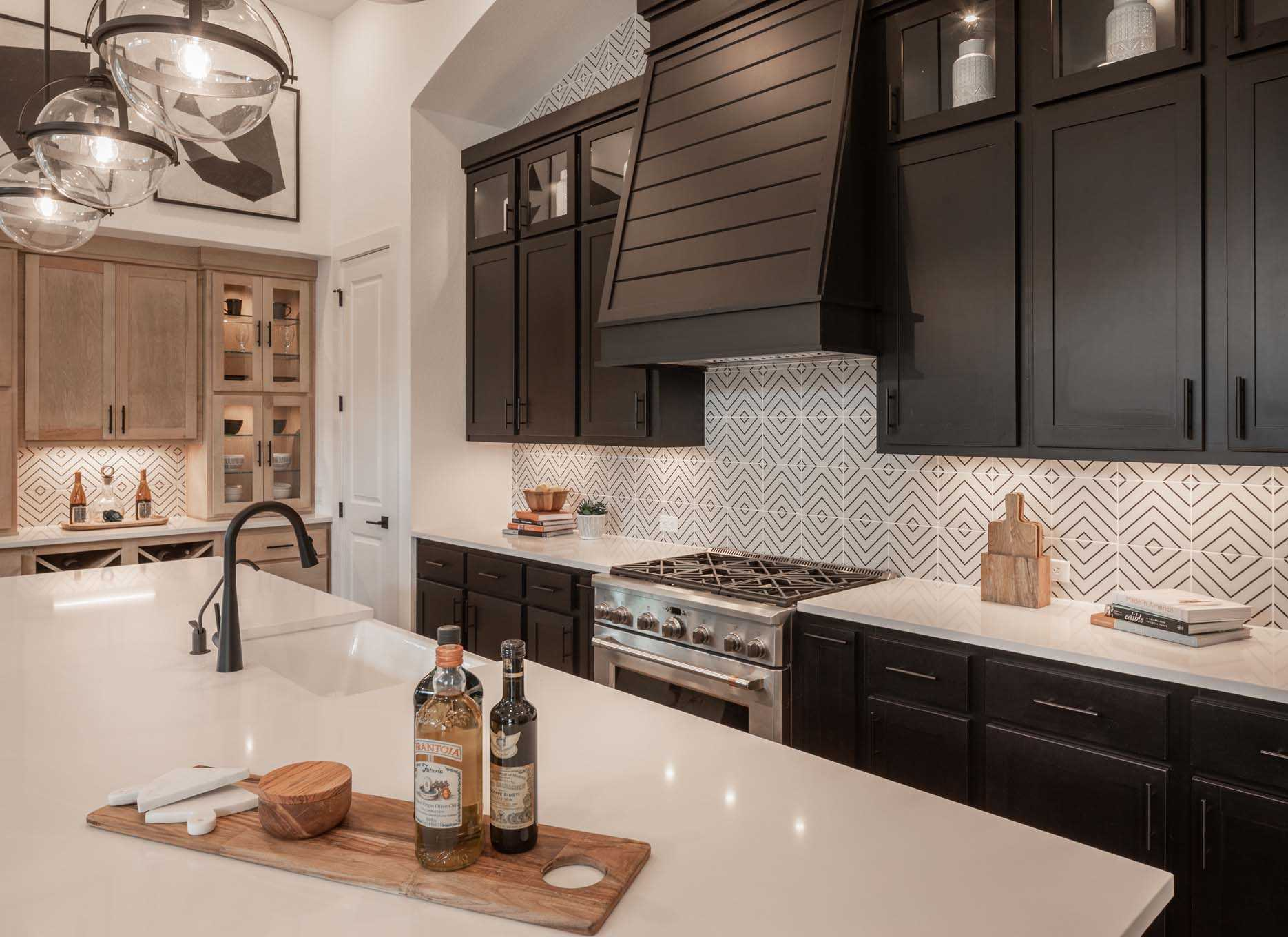 Kitchen featured in the Plan 215 By Highland Homes in Houston, TX