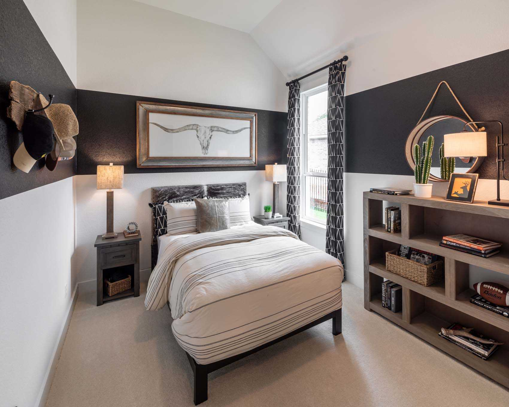 Bedroom featured in the Plan 215 By Highland Homes in Houston, TX