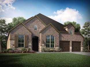 Plan 217 - Harvest: 60ft. lots: Argyle, Texas - Highland Homes