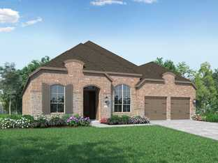 Plan 216 - Sandbrock Ranch: 60ft. lots: Aubrey, Texas - Highland Homes