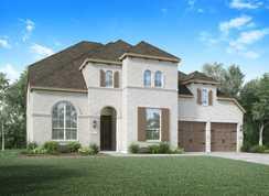 Plan 220 - Santa Rita Ranch North: 60ft. lots: Liberty Hill, Texas - Highland Homes