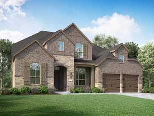 Plan 221 - Harvest: 60ft. lots: Argyle, Texas - Highland Homes