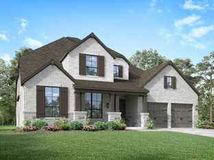 Plan 222 - Sandbrock Ranch: 60ft. lots: Aubrey, Texas - Highland Homes
