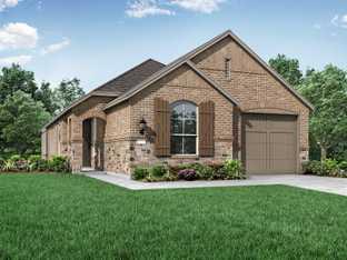 Plan Chelsea - Thompson Farms: 40ft. lots: Van Alstyne, Texas - Highland Homes