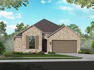 Plan Camden - Meyer Ranch: New Braunfels, Texas - Highland Homes