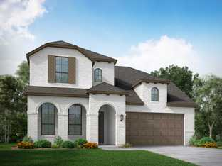 Plan Redford - Veranda: 55ft. lots: Richmond, Texas - Highland Homes