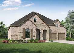 Plan 211 - Santa Rita Ranch North: 60ft. lots: Liberty Hill, Texas - Highland Homes