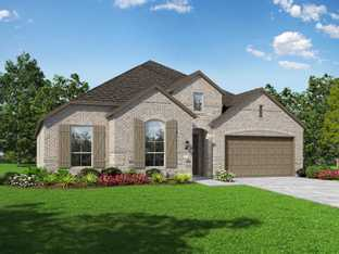 Plan Milton - Devonshire: 60ft. lots: Forney, Texas - Highland Homes