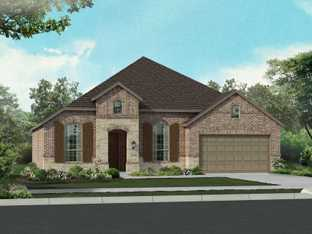 Plan Napier - North Grove: The Enclave - 60, 70, 85ft lots: Waxahachie, Texas - Highland Homes