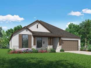 Plan Fairhall - Devonshire: 60ft. lots: Forney, Texas - Highland Homes