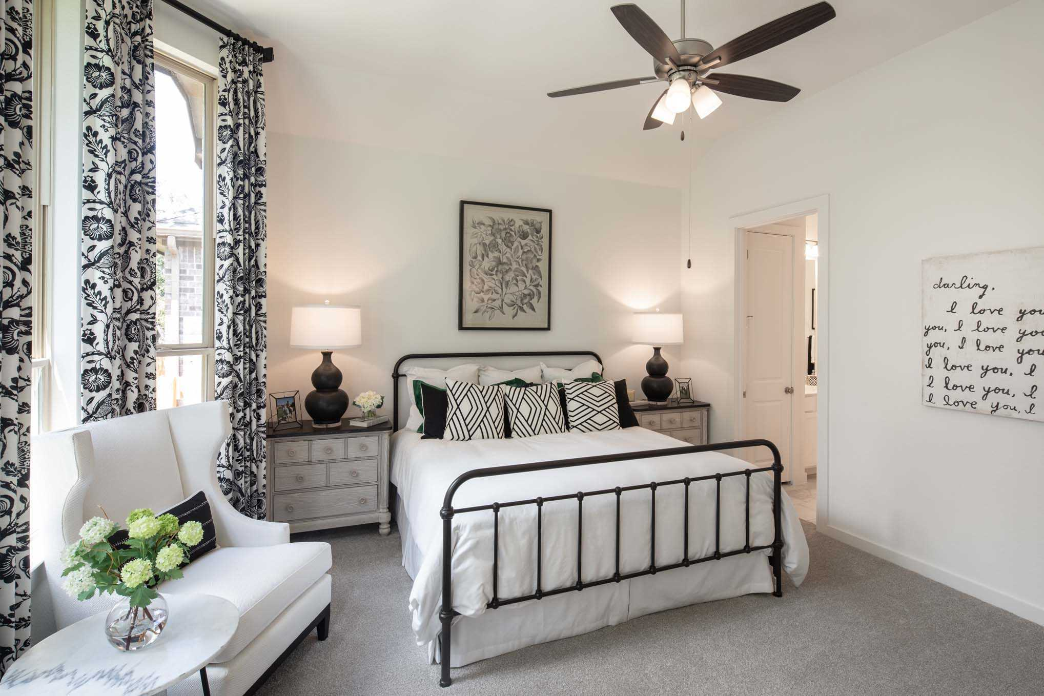 Bedroom featured in the Plan Fairhall By Highland Homes in Dallas, TX