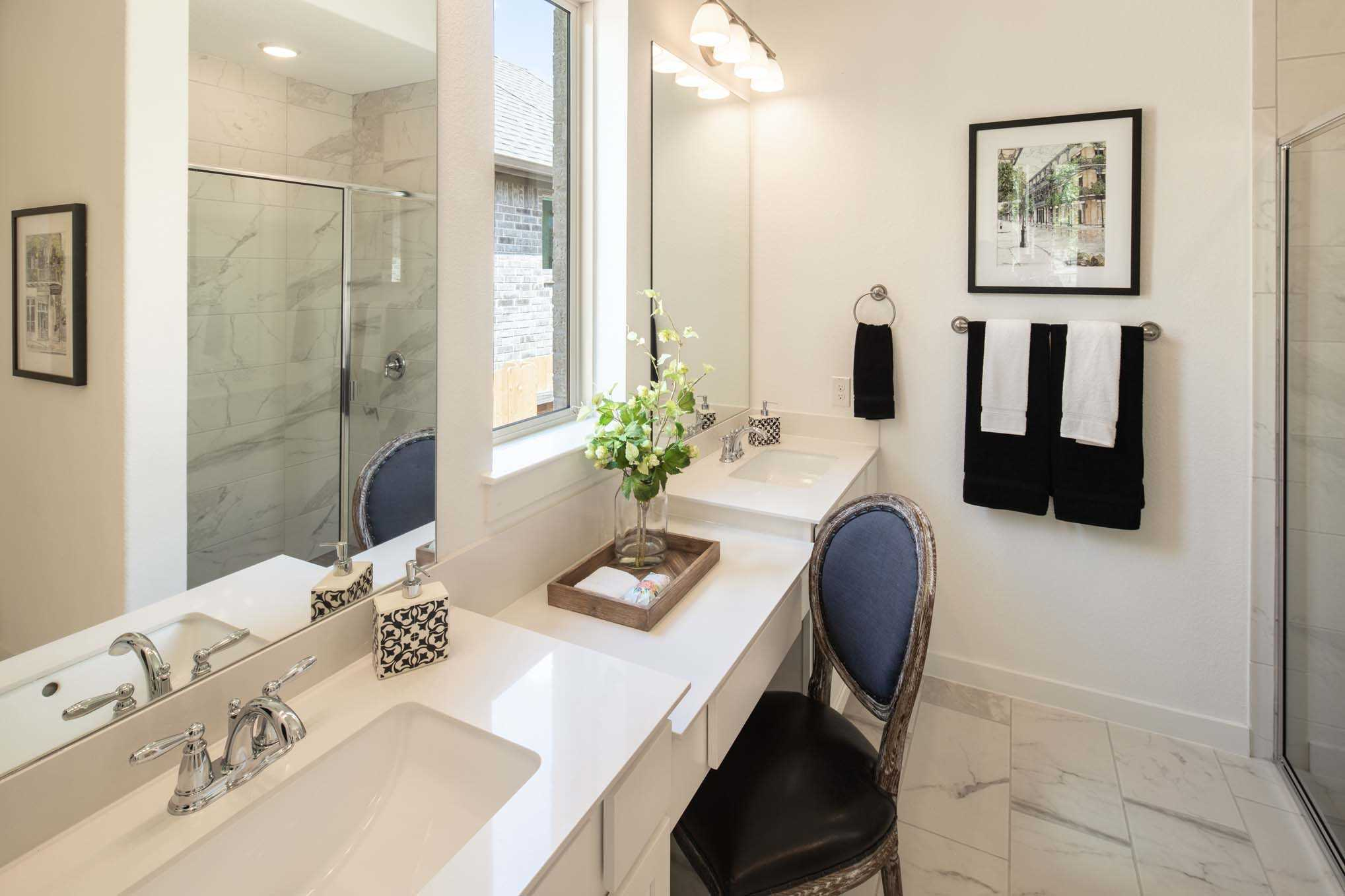 Bathroom featured in the Plan Fairhall By Highland Homes in Dallas, TX
