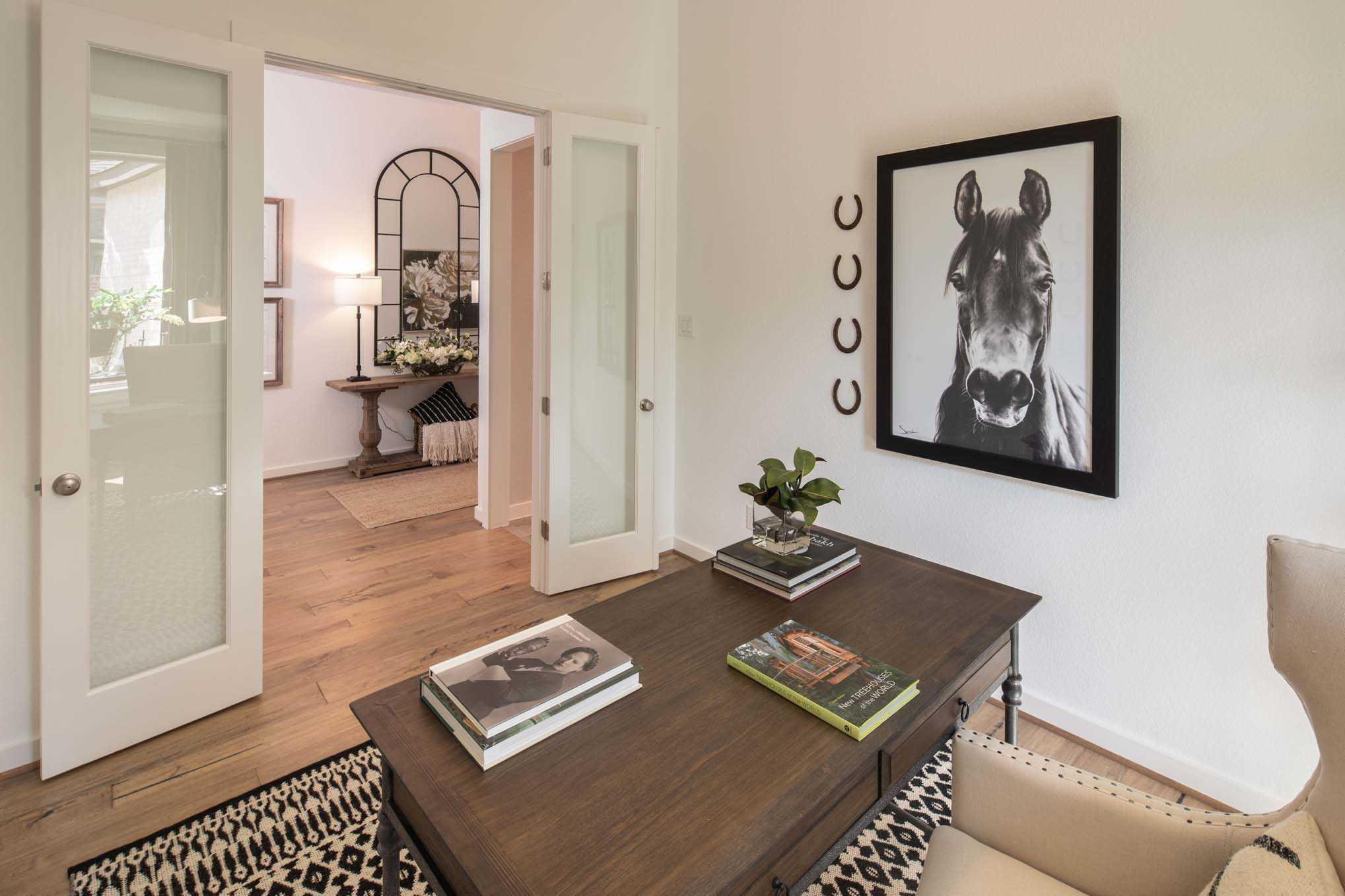 Living Area featured in the Plan Fairhall By Highland Homes in Dallas, TX
