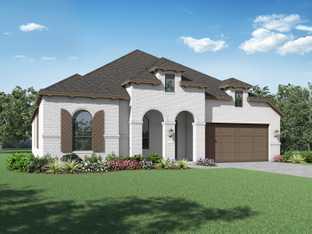 Plan Fleetwood - Davis Ranch: 60ft. lots: San Antonio, Texas - Highland Homes