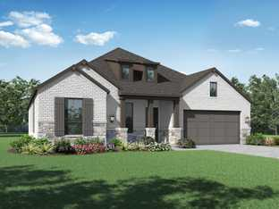 Plan Fleetwood - Devonshire: 60ft. lots: Forney, Texas - Highland Homes