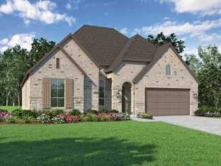 Plan Fleetwood - Gateway Parks: 60ft. lots: Forney, Texas - Highland Homes