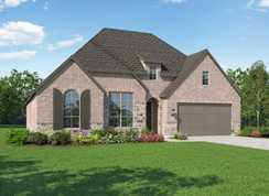 Plan Canterbury - North Grove: The Enclave - 60, 70, 85ft lots: Waxahachie, Texas - Highland Homes