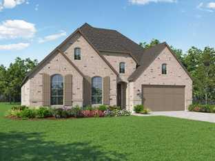 Plan Canterbury - Artavia: 60ft. lots: Conroe, Texas - Highland Homes