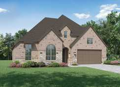 Plan Chesterfield - Gateway Parks: 60ft. lots: Forney, Texas - Highland Homes