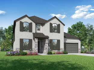 Plan Eastbourne - Gateway Parks: 60ft. lots: Forney, Texas - Highland Homes