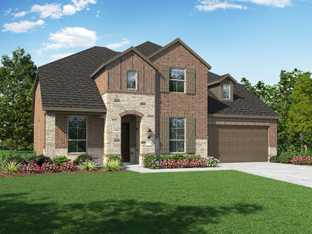 Plan Yorkshire - Highlands at Mayfield Ranch: 60ft. lots: Round Rock, Texas - Highland Homes