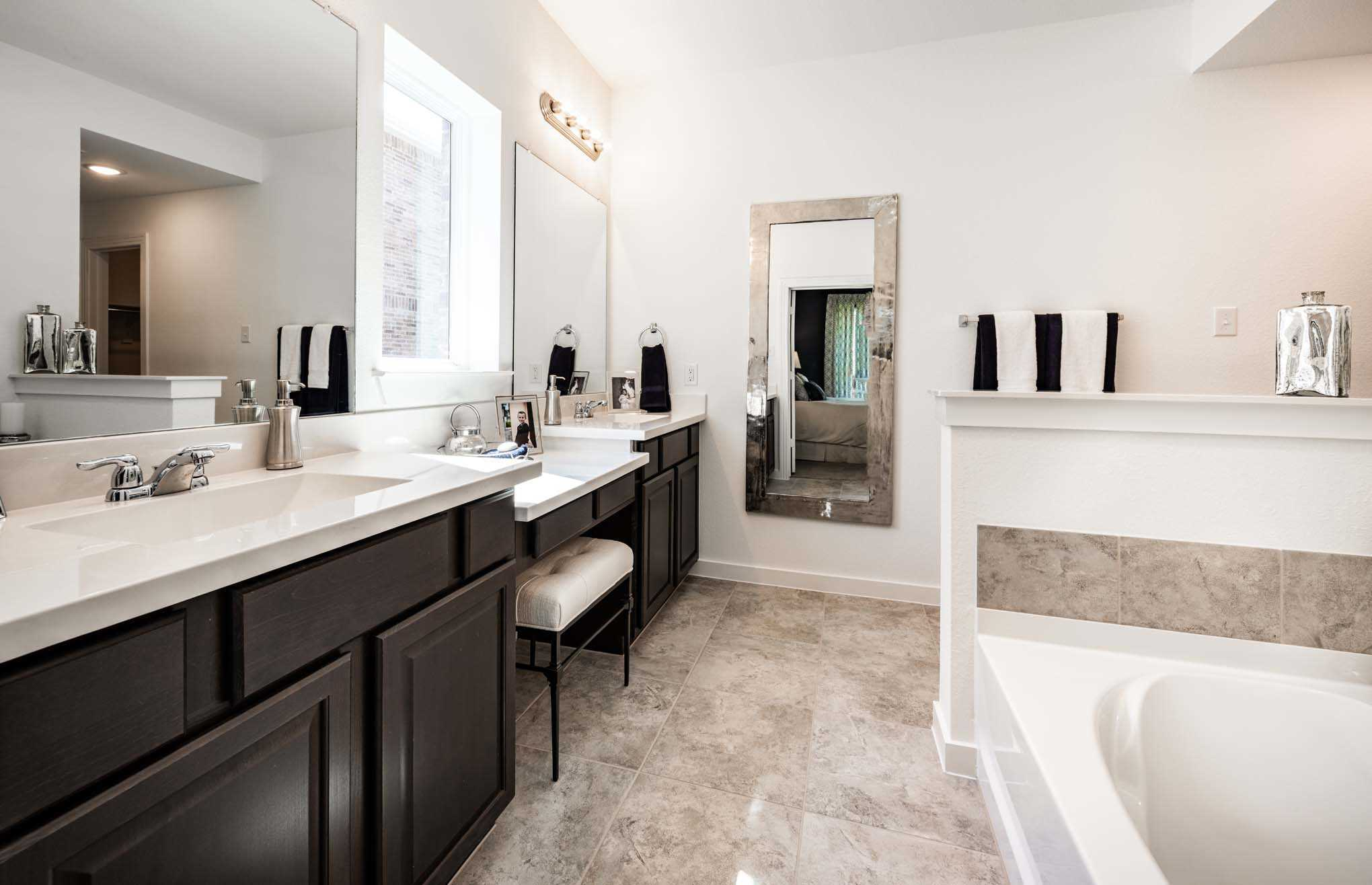 Bathroom featured in the Plan Yorkshire By Highland Homes in Dallas, TX