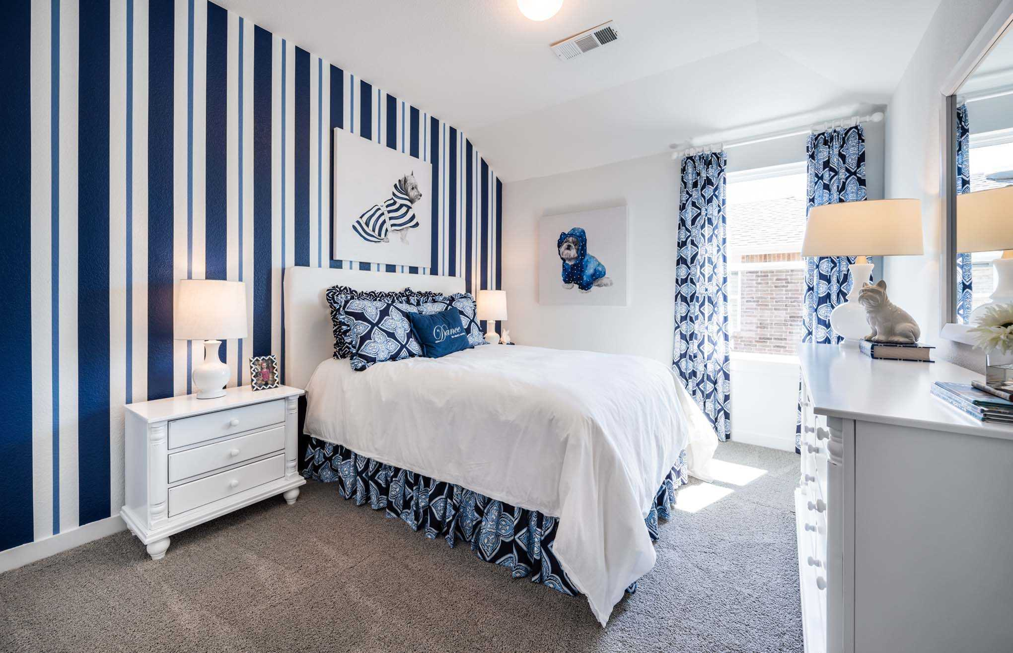 Bedroom featured in the Plan Yorkshire By Highland Homes in Sherman-Denison, TX