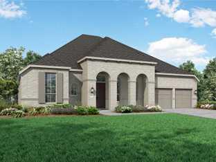 Plan 272 - Sandbrock Ranch: 70ft. lots: Aubrey, Texas - Highland Homes