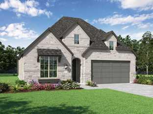 Plan Davenport - Thompson Farms: 50ft. lots: Van Alstyne, Texas - Highland Homes