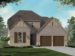 Plan 555H - Walsh: 50ft. lots: Aledo, Texas - Highland Homes