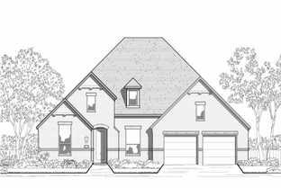 Plan 204 - Walsh: 60ft. lots: Aledo, Texas - Highland Homes