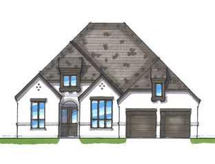 Plan 215 - Walsh: 60ft. lots: Aledo, Texas - Highland Homes