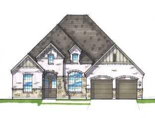 Plan 216 - Walsh: 60ft. lots: Aledo, Texas - Highland Homes