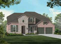 Plan 208 - Walsh: 60ft. lots: Aledo, Texas - Highland Homes