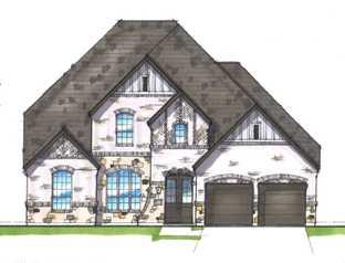 Plan 222 - Walsh: 60ft. lots: Aledo, Texas - Highland Homes