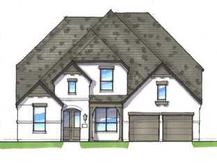 Plan 221 - Walsh: 60ft. lots: Aledo, Texas - Highland Homes