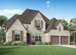 Plan 221 - Harvest: 60ft. lots: Northlake, Texas - Highland Homes