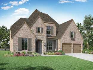 Plan 221 - Sandbrock Ranch: 60ft. lots: Aubrey, Texas - Highland Homes