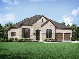 Plan 270 - Wildridge: 70ft. lots: Oak Point, Texas - Highland Homes