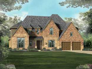 Plan 267 - Mustang Lakes: 74ft. lots: Celina, Texas - Highland Homes