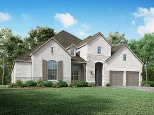 Plan 292 - Sandbrock Ranch: 70ft. lots: Aubrey, Texas - Highland Homes