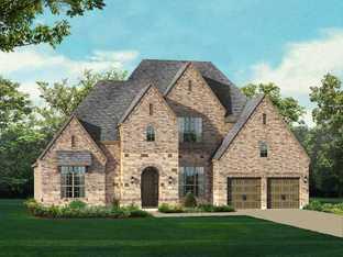 Plan 297 - Mustang Lakes: 74ft. lots: Celina, Texas - Highland Homes