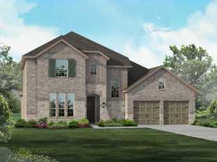 Plan 206 - Liberty: Classic Series - 70ft lots: Melissa, Texas - Highland Homes