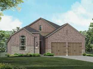 Plan 550 - Fronterra at Westpointe: 55ft. lots: San Antonio, Texas - Highland Homes