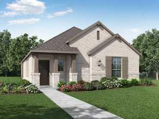 Plan Devon - Wellington: 40ft. lots: Haslet, Texas - Highland Homes