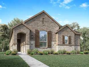 Plan Hilton - Wellington: 40ft. lots: Haslet, Texas - Highland Homes