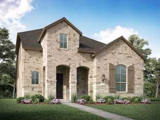 Plan Merrivale - North Grove: The Enclave - 50ft lots: Waxahachie, Texas - Highland Homes